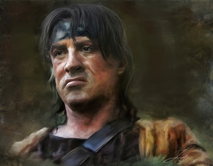 Sylvester Stallone by z6ig